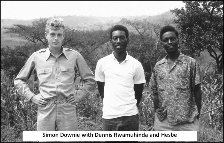 Simon with Dennis and Hesbe