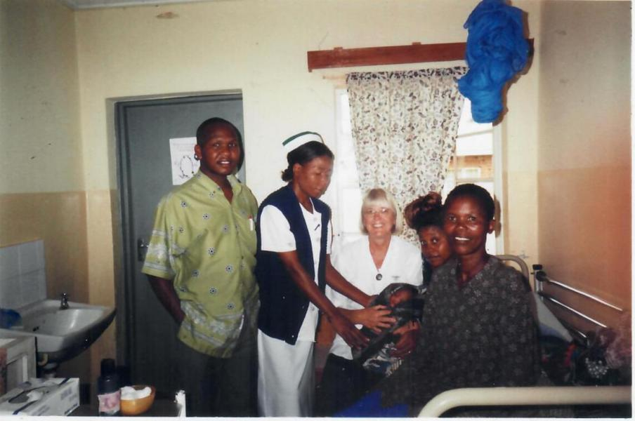 The Birth of my son in Malawi in St. John's Hospital on February 2, 2006