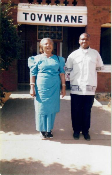My boss and 'mother' Mrs. Helen Munthali