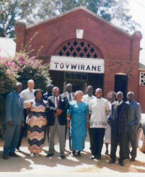 Myself with the Board of Directors of Tovwirane HIV/AIDS Organisation in Mzimba