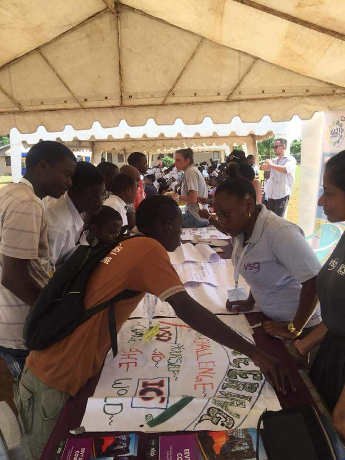 Carrier Fair event Held in VETA Mtwara