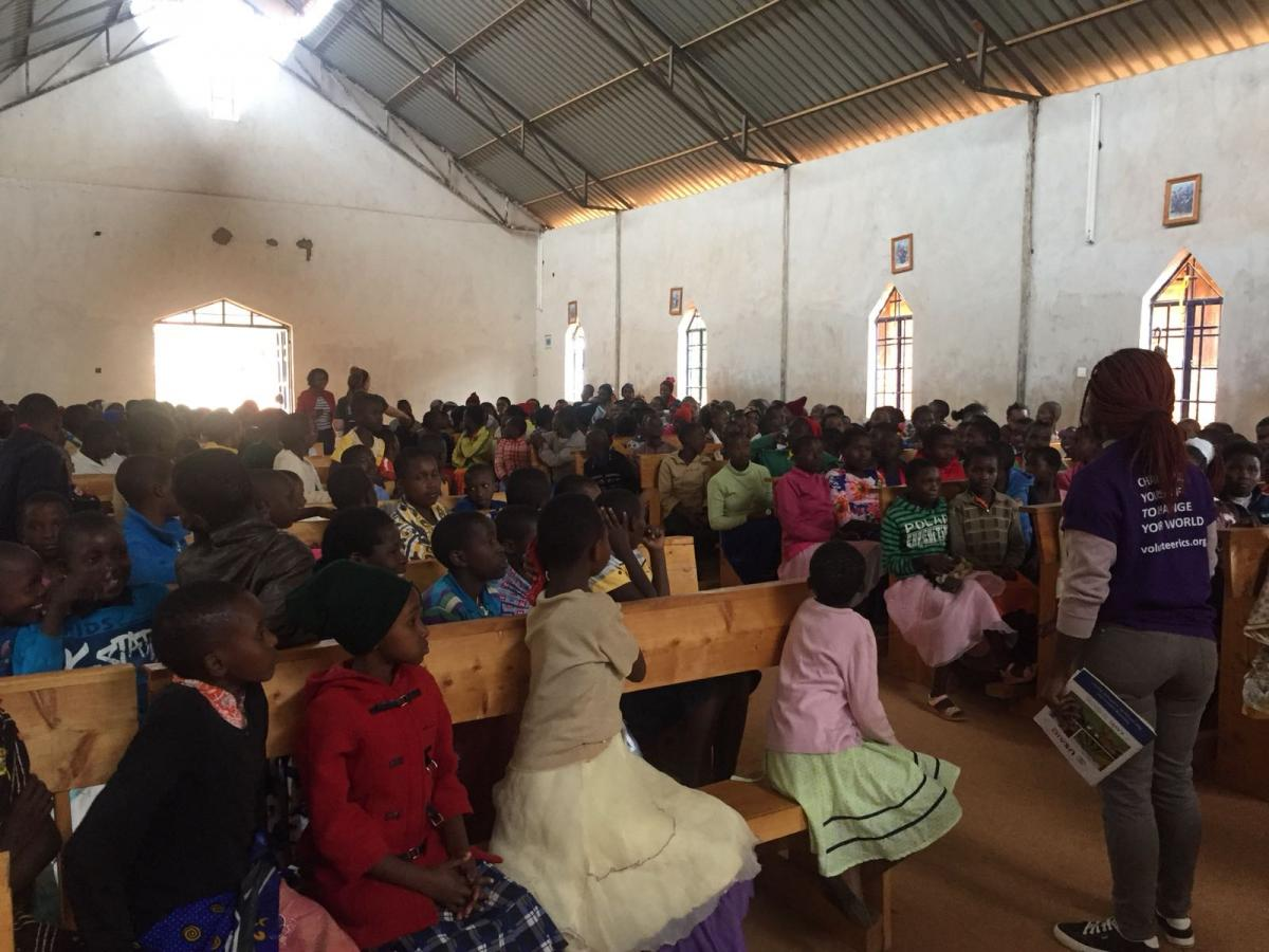 Girl Empowerment Forum in Mboooni, Makueni